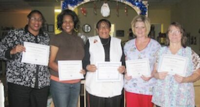 Caregivers at Eastside Day Care Celebrate Completion of Plan 1 Training