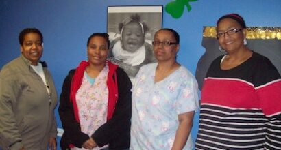 Caregivers at Small Impressions Child Development Center in Taylors, S.C.
