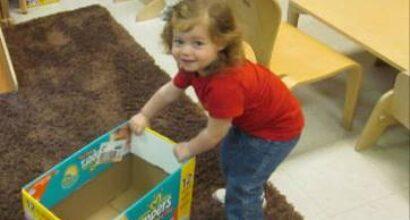 A toddler's social development