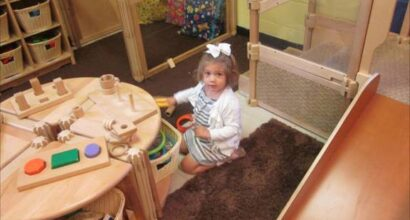 Developmentally appropriate toys and furnishings
