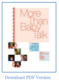 More than Baby Talk Download