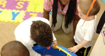 Sensory experiences extend learning through play
