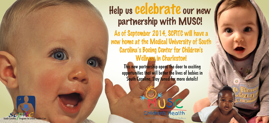 MUSC Announcement Slider with MUSC Logo