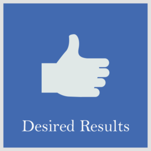 Desired Results