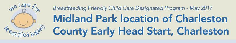 Midland Park location of Charleston County Early Head Start, Charleston