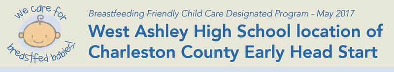 West Ashley High School location of Charleston County Early Head Start, Charleston